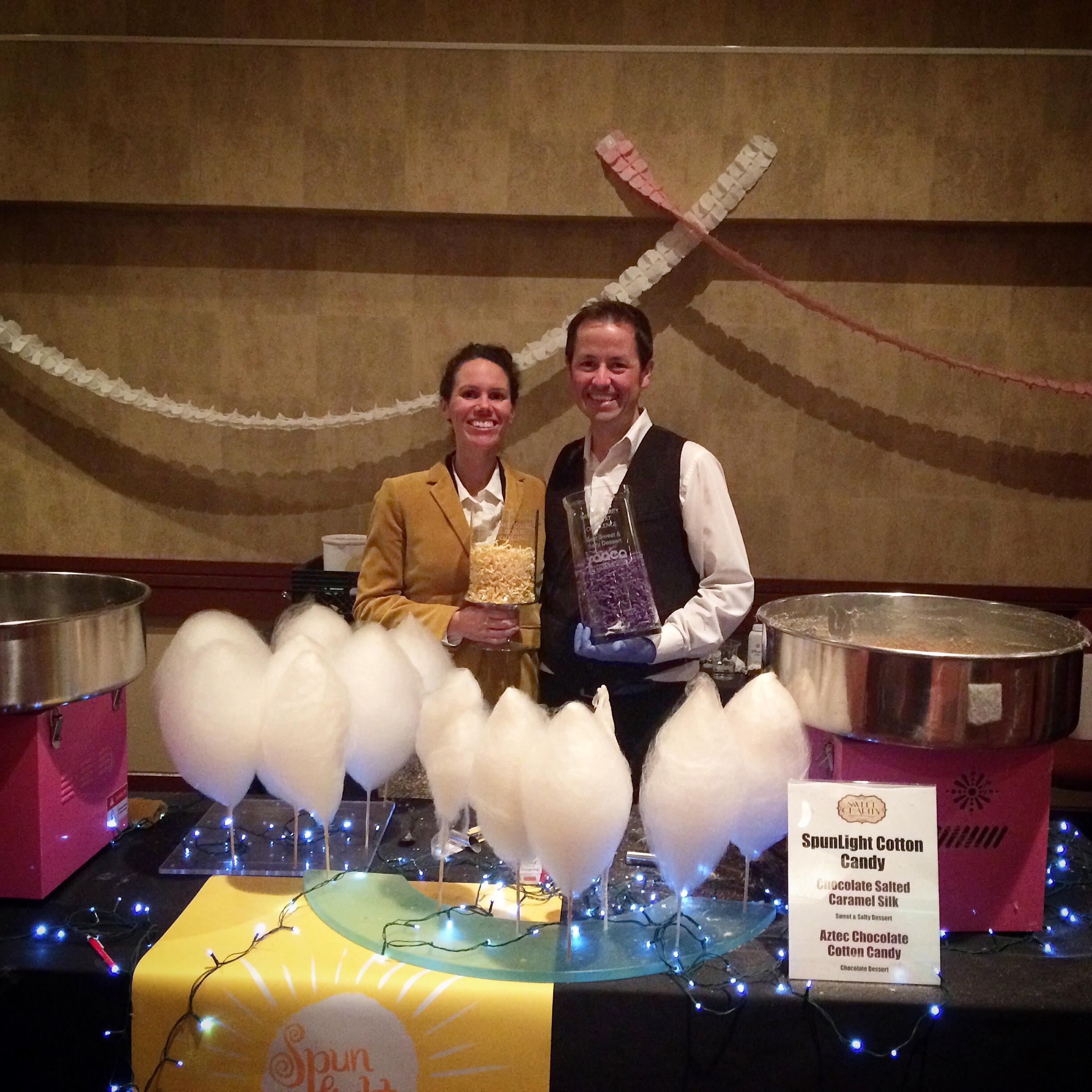 SpunLight award winning cotton candy
