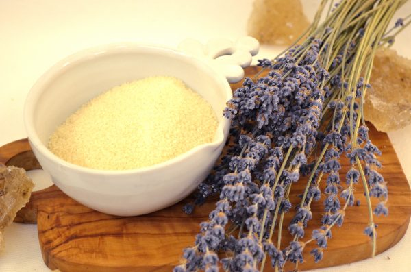 lavender cotton candy sugar