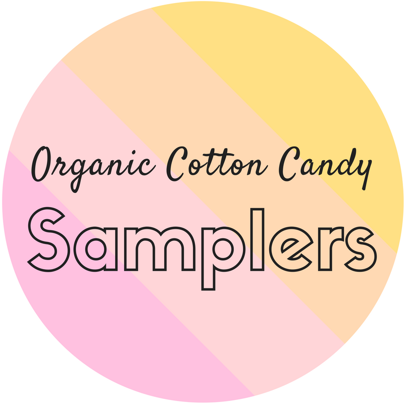 Organic Cotton Candy Samplers
