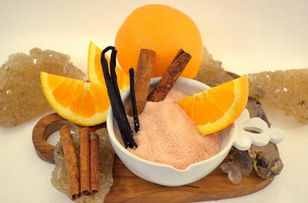 spiced orange cotton candy sugar