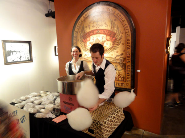 first event selling organic cotton candy